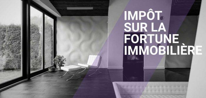 l'impôt sur la fortune immobilière IFI