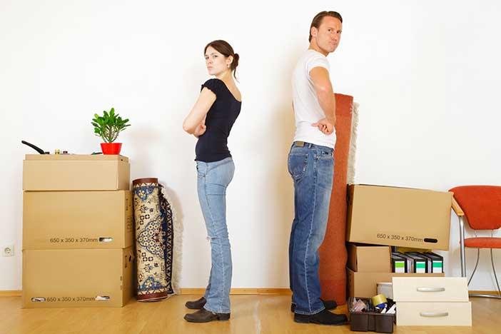 en cas de s paration comment se passe le partage entre concubins. Black Bedroom Furniture Sets. Home Design Ideas