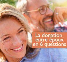 La donation entre époux