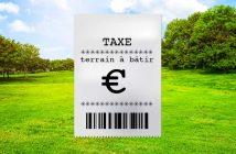 Taxation tosu azimuts sur le terrain à bâtir