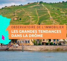 Observatoire de l'immobilier dans la Drôme en 2018, maintien du dynamisme