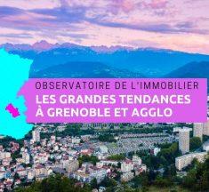 Observatoire de l'immobilier en Isère en 2018, l'immobilier à Grenoble et dans l'agglomération grenobloise à la loupe