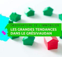 Observatoire de l'immobilier en Isère en 2018, le secteur du Grésivaudan à la loupe