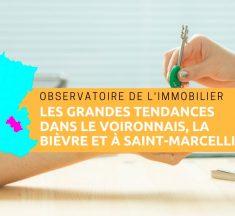 Observatoire de l'immobilier en Isère en 2018, le secteur du Voironnais, de Saint-Marcellin et de la Bièvre à la loupe