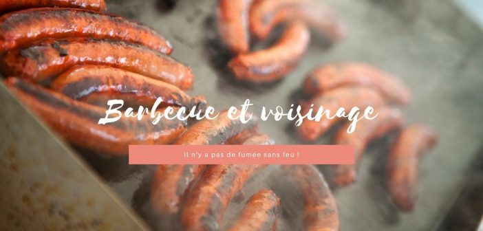 barbecue et voisinage