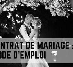Faire un contrat de mariage : mode d'emploi