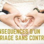 mariage sans contrat