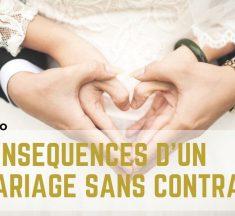 Mariage avec ou sans contrat ?