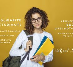Solidarité étudiants : les notaires se mobilisent
